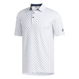 アディダス(adidas) ゴルフ ポロシャツ メンズ ULTIMATE365 モノグラム 半袖シャツ GLB30-FJ9828W/NV (Men's)