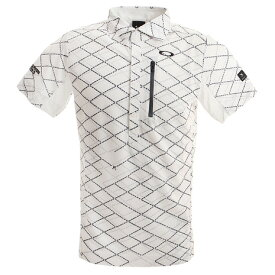 オークリー(OAKLEY) ゴルフ ウエア ポロシャツ メンズ Skull Displace ポロシャツ FOA400796-186 (Men's)