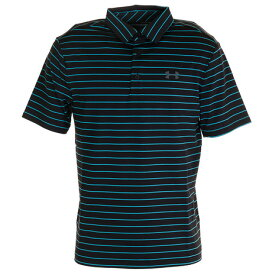 アンダーアーマー(UNDER ARMOUR) ゴルフ ポロシャツ メンズ プレイオフポロシャツ 2.0 1327037 BLK/ESC/PCG GO (メンズ)