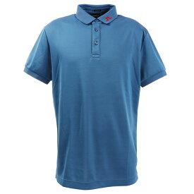 J.LINDEBERG 最安値挑戦ゴルフウェア メンズ Back Dual Bridge 半袖ポロシャツ 071-29445-097 (メンズ)