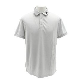 Jリンドバーグ(J.LINDEBERG) ゴルフウェア Back Dual Bridge 半袖ポロシャツ 071-29445-012 (Men's)