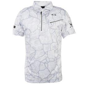 オークリー(OAKLEY) ゴルフ ウエア ポロシャツ メンズ SkullBreathable グラフィック半袖ポロ FOA400799-186 (Men's)