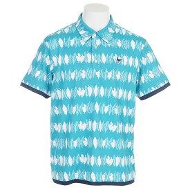 クランク(CLUNK) ゴルフウェア メンズ TPボーダーポロ CLA0308 EGR (Men's)