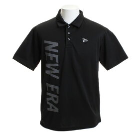 ニューエラ(NEW ERA) ゴルフウェア メンズ テックニットポロシャツ バーチカル BK 12046806 (Men's)