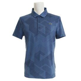 ラコステ(LACOSTE) ゴルフウェア メンズ ジオメトリックプリントゴルフポロシャツ DH3478L-A4Y (Men's)