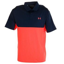 アンダーアーマー(UNDER ARMOUR) ゴルフ ポロシャツ メンズ パフォーマンス ポロシャツ 2.0 カラーブロック 1355485 ADY/BEA GO (メンズ)