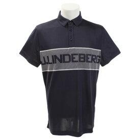 Jリンドバーグ(J.LINDEBERG) ゴルフウェア ADE REG FIT TX JAQ 半袖ポロシャツ 071-29350-098 (Men's)