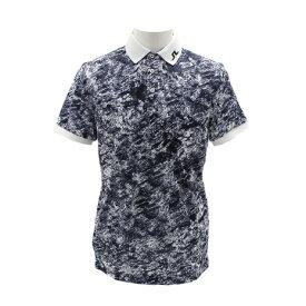 Jリンドバーグ(J.LINDEBERG) ゴルフウェア Ocean Camo Iconic 半袖ポロシャツ 071-29442-017 (Men's)