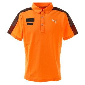 プーマ(PUMA) ポロシャツ メンズ ゴルフ ケージド SS ポロシャツ 半袖 930012-02 (メンズ)