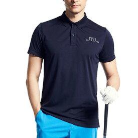 J.LINDEBERG ゴルフウエア メンズ アウトラインブリッジポロシャツ 071-22351-098 (メンズ)