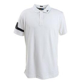 J.LINDEBERG ゴルフウエア メンズ 袖ブリッジポロシャツ 071-22354-004 (メンズ)