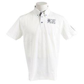 フィドラ(FIDRA) 【オンライン特価】ウェア メンズ 半袖ボタンダウンポロシャツ FDA0316-WHT (Men's)
