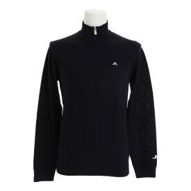 Jリンドバーグ(J.LINDEBERG) Kian Merino Sweater TourZippper 071-18010-098 (Men's)