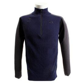 オークリー(OAKLEY) ゴルフウェア メンズ スカル ハーフジップセーター 461708JP-67Z (Men's)