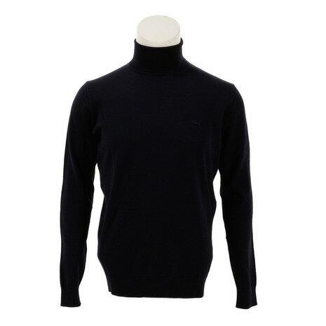 ラコステ(LACOSTE) ウォッシャブル メリノウール セーター AH299EL-166 (Men's)