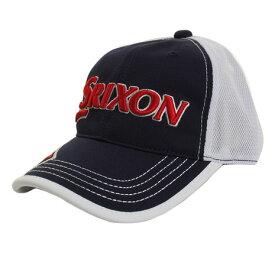 スリクソン(SRIXON) 限定 SMH8134L NY/WH キャップ (Men's、Lady's)
