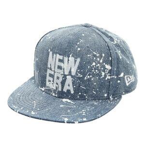 ニューエラ(NEW ERA) 9FIFTY Original Fit スプラッシュペイント スクエアロゴ キャップ 12674521 (メンズ)