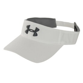 アンダーアーマー(UNDER ARMOUR) UA Core Golf Visor 1328676 WHT/PCG GO (Men's)