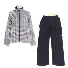 アディダス(adidas) レインウェア スーツ CCM86-N67879 ホワイト (レディース) 《B》 付属品:B (Lady's)