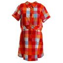 ビバハート(VIVA HEART) ゴルフウェア レディース プラッドチェック半袖ワンピース 012-69241-038 (Lady's)
