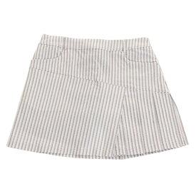 セントアンドリュース(ST.ANDREWS) ゴルフウェア White Label サテンストレッチストライプ スカート 043-9134352-030 (Lady's)