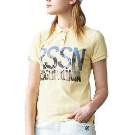 ROSASEN ポロシャツ レディース コラボパイル半袖シャツ 045-22447-032 (レディース)