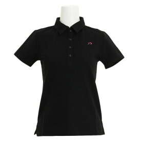 リエンダ スエルタ(rienda suelta) ゴルフウェア レディース 半袖ポロシャツ RS-8020712-BLK (Lady's)