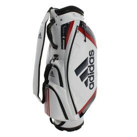 アディダス(adidas) ゴルフ キャディバッグ メンズ ベーシック XA227-CL0602ホワイト 付属品:JR (Men's)