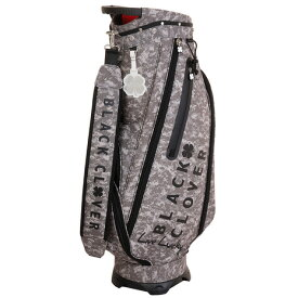 ブラッククローバー(Black Clover) ゴルフ キャディバッグ メンズ カモフラージュ柄キャディーバッグ BC5HNC16 GRY (Men's)