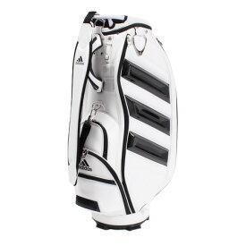 アディダス(adidas) 3ストライププロレプリカキャディバッグ XA207-CL0561ホワイト19SS (Men's)