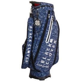 ブラッククローバー(Black Clover) ゴルフ キャディバッグ メンズ カモフラージュ柄キャディーバッグ BC5HNC16 NVY (Men's)