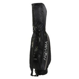 本間ゴルフ(HONMA) キャディバッグ メンズ CB1951-BK ネームタグ&フードカバー付 軽量 (メンズ)