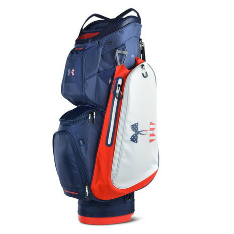 アンダーアーマー(UNDER ARMOUR) 【ゼビオグループ限定】UA Storm Armada Cart Bag キャディバッグ 1317087 ADY/WHT (Men's)