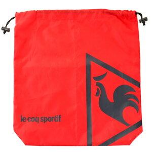 ルコック スポルティフ(Lecoq Sportif) ロゴプリントシューズケース QQBLJA22-RD00 (Men's)