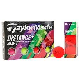 テーラーメイド(TAYLORMADE) ゴルフボール 1ダース ディスタンス プラス マルチ DISTANCE+ multi 1ダース (メンズ)