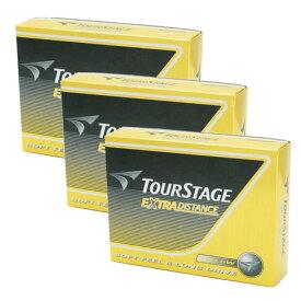 ツアーステージ(TOURSTAGE) ゴルフボール ブリヂストン エクストラディスタンス 3ダースセット イエロー (Men's、Lady's)