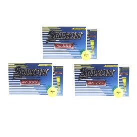 スリクソン(SRIXON) ゴルフボール 3ダースセット AD333 イエロー (Men's)