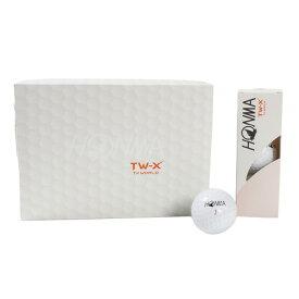 本間ゴルフ(HONMA) ゴルフボール HONMA TW-X 1ダース(12個入り) (Men's)