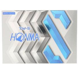 本間ゴルフ(HONMA) ゴルフボール TW-S-WH 1ダース BT1904-WH (Men's、Lady's、Jr)