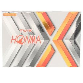 本間ゴルフ(HONMA) ゴルフボール TW-X-WH 1ダース BT1908-WH (Men's、Lady's、Jr)