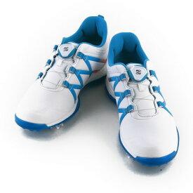 アディダス(adidas) ゴルフシューズ 【オンラインストア価格】 Wアディパワーブーストボアシューズ Q44746 W/BL (Lady's)