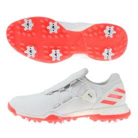 アディダス(adidas) ゴルフシューズ スパイク レディース パワーラップ ボア FU9386W/PI (レディース)