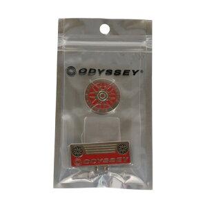 オデッセィ(ODYSSEY) SL クリップマーカー 5920357OD SL MARKER RED 20 (メンズ、レディース)