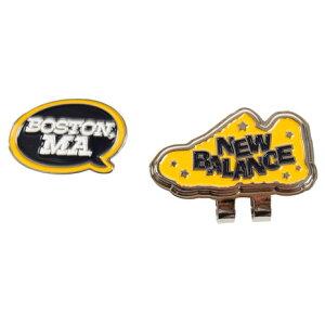 ニューバランス(new balance) METRO BOSTON MA吹き出し クリップマーカー 012-8284509-061 (Men's、Lady's)