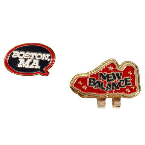 ニューバランス(new balance) METRO BOSTON MA吹き出し クリップマーカー 012-8284509-100 (Men's、Lady's)