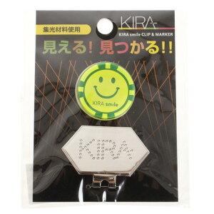 キャスコ(KASCO) KIRA Smile クリップ&集光性マーカー KICM-1915 イエロー (メンズ、レディース)
