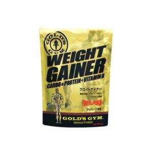 ゴールドジム(GOLD'S GYM) ウエイトゲイナー チョコレート風味 1kg F8500 計量スプーン付 (メンズ)