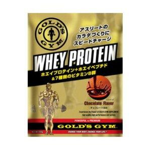ゴールドジム(GOLD'S GYM) ホエイプロテイン チョコレート風味 360g F5536 計量スプーン付 (メンズ)