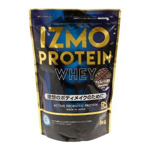 イズモ(IZMO) プロテイン ホエイ100 乳酸菌配合 筋トレ たんぱく質 チョコレート風味 1000g 約50食入 (メンズ、レディース)