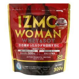 イズモ(IZMO) ホエイ ソイ 乳酸菌配合 WOMANプロテイン 燃焼サポート ウェイトダウン ココア風味 大豆 減量 300g 約15食入 (メンズ、レディース)
